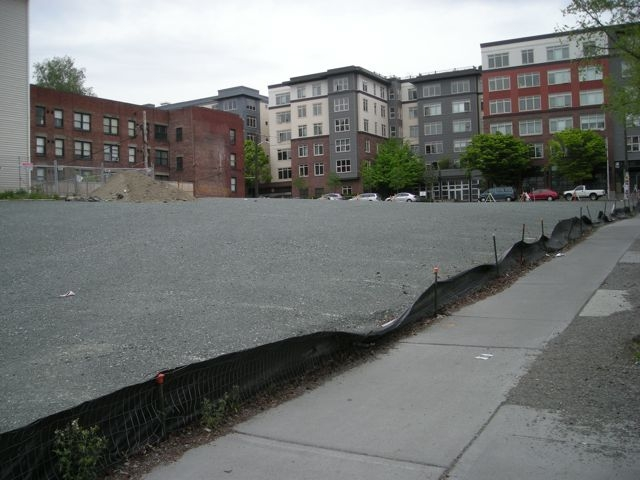 Capitol Hill Vacant Parking Lot