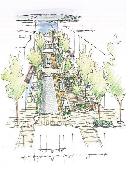Bell St. Boulevard Sketch