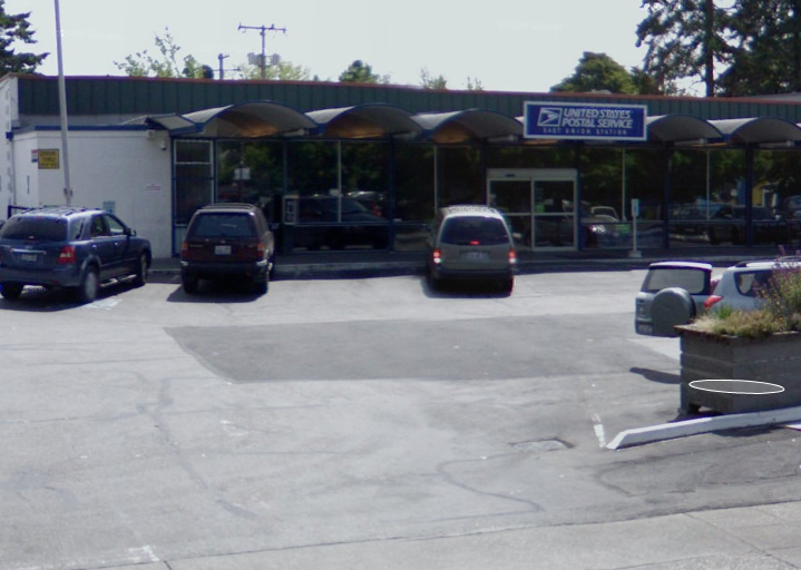 Street view of Central District USPS