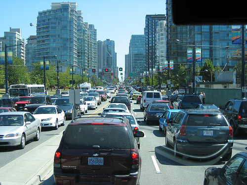 Vancouver Congestion (Photo by Mark Woodbury)